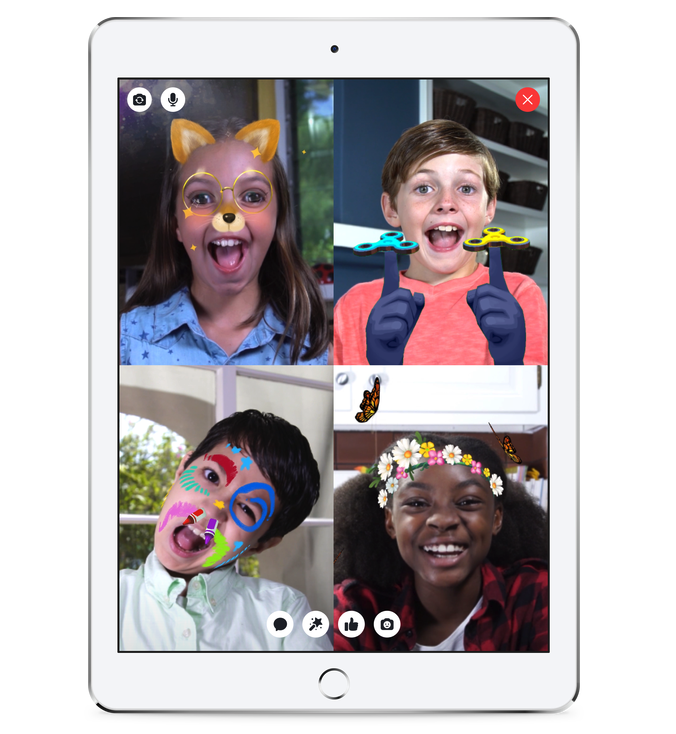 Facebook lanza una versión de Messenger para niños menores